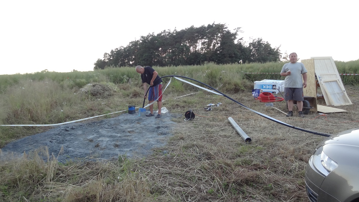 Uložení čerpadla do studny