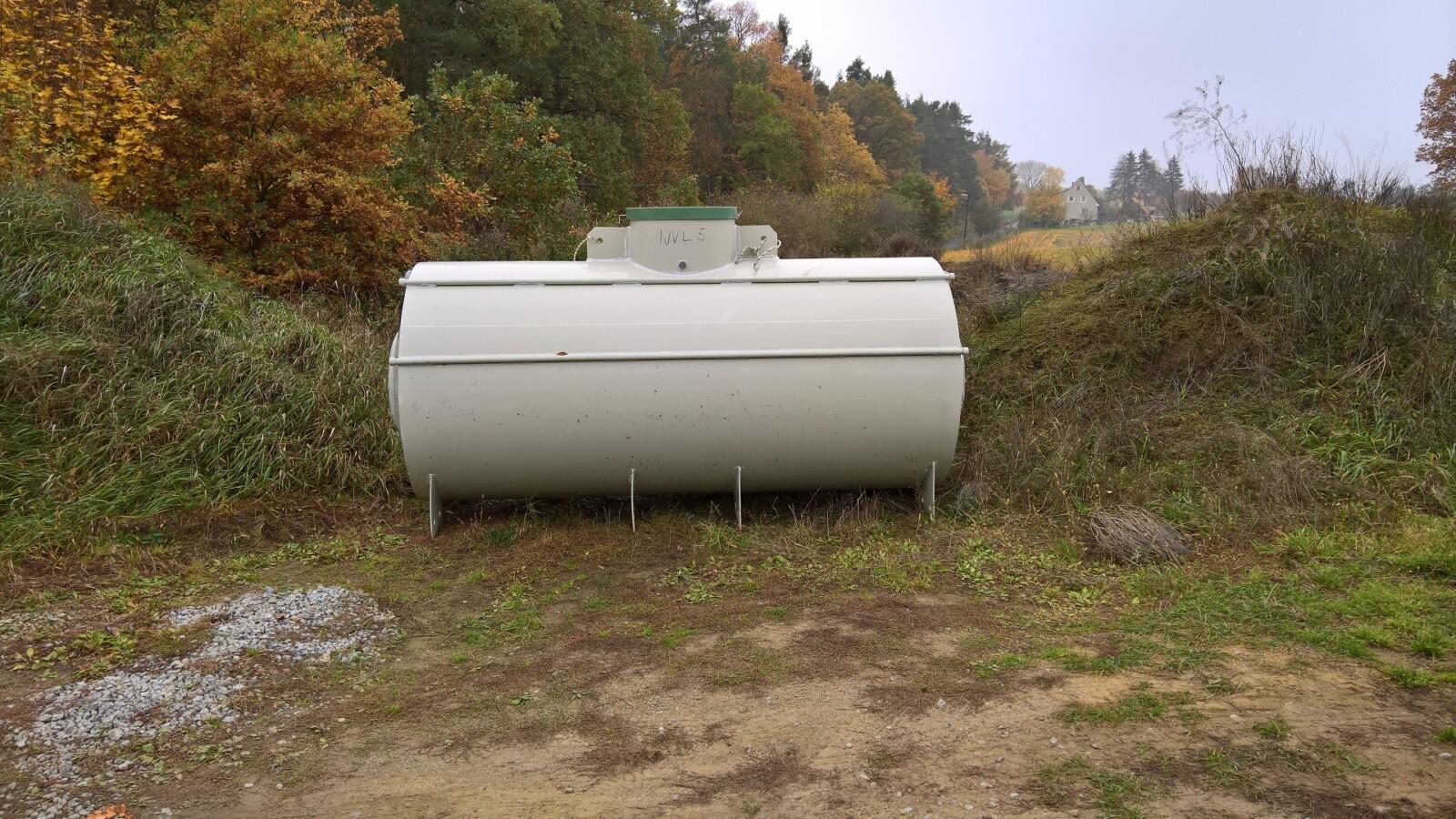 Retenční nádrž na vodu