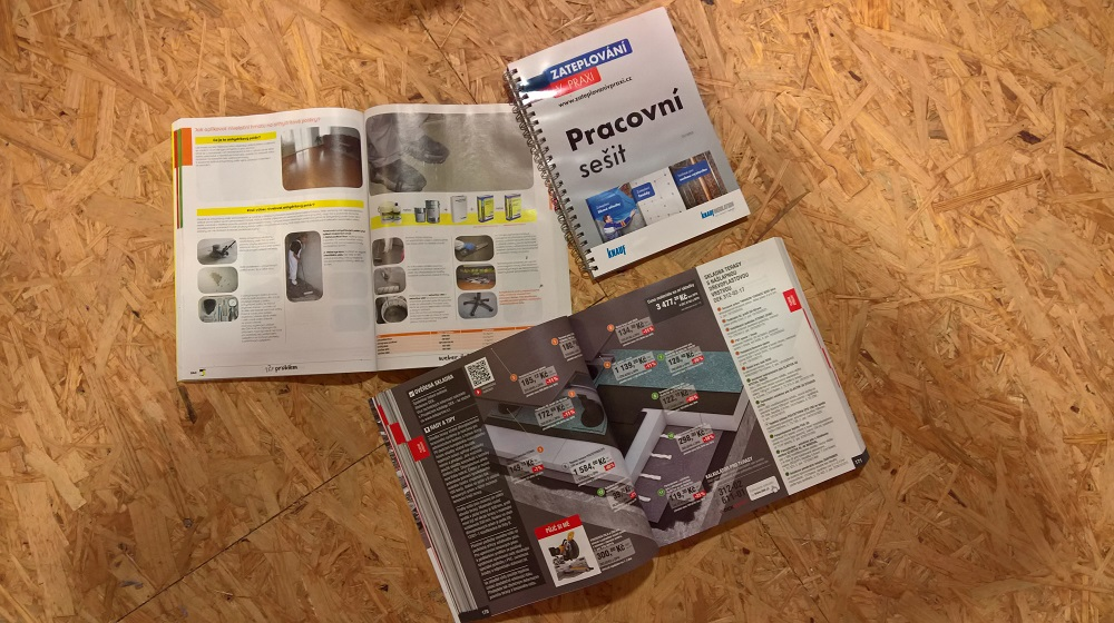 Katalogy stavebnin a výrobců materiálů