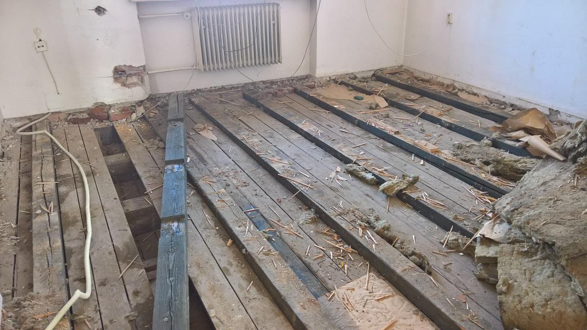 Náš nový blog o rekonstrukci starého domu