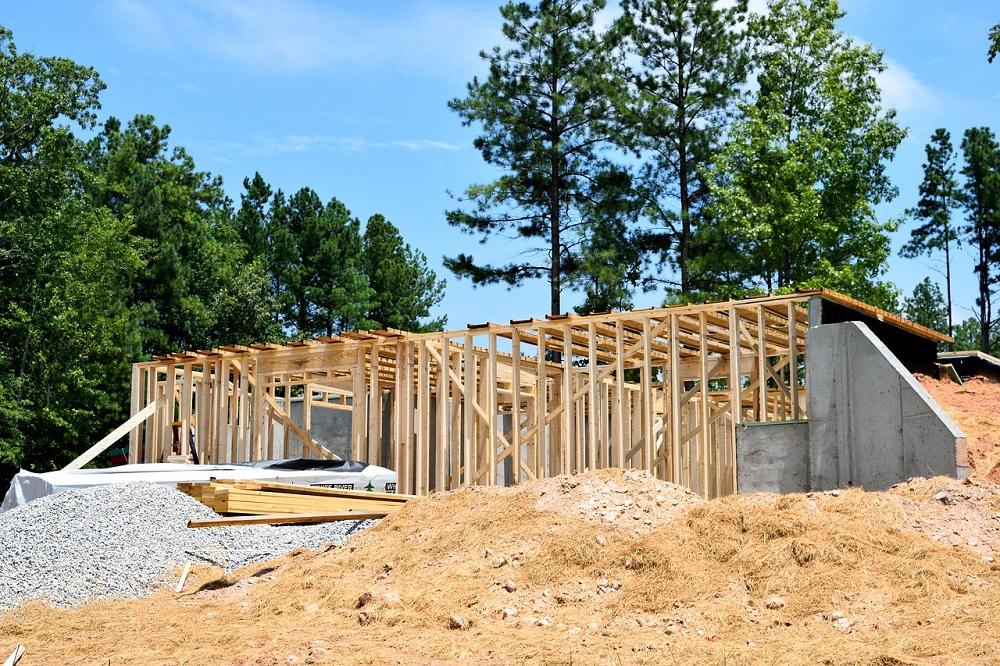 Základní konstrukce dřevostavby