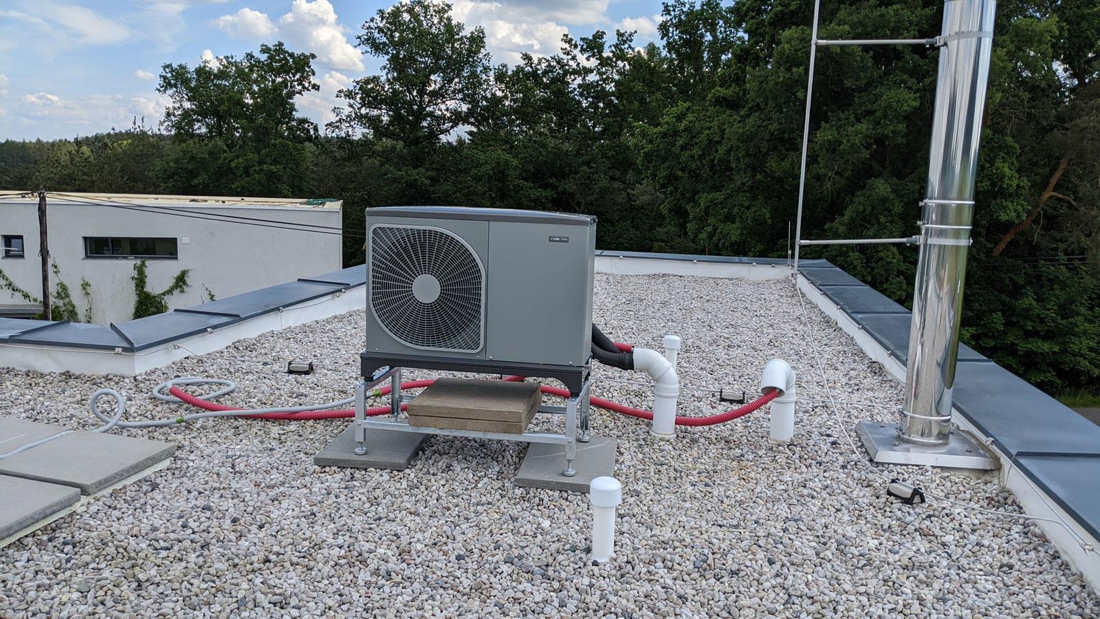 Výměna elektrokotle za tepelné čerpadlo